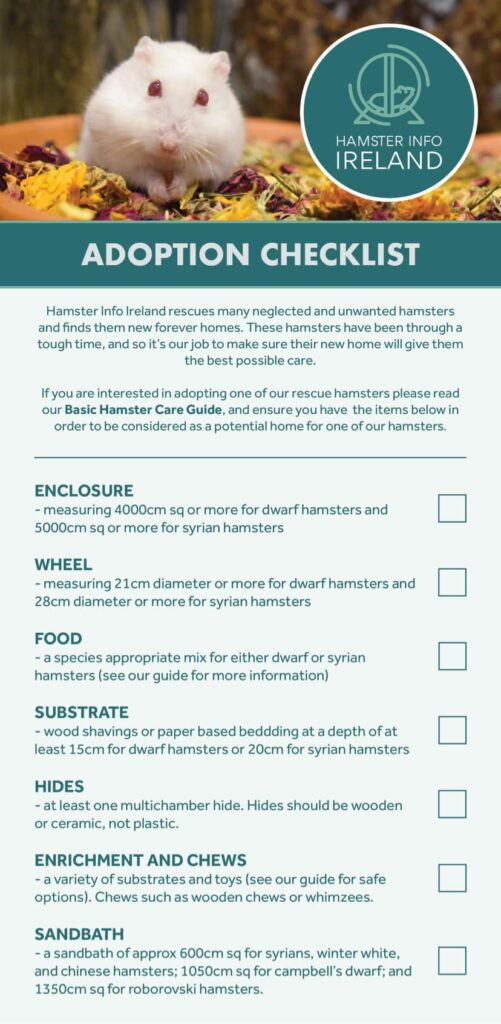 Adoption Checklist